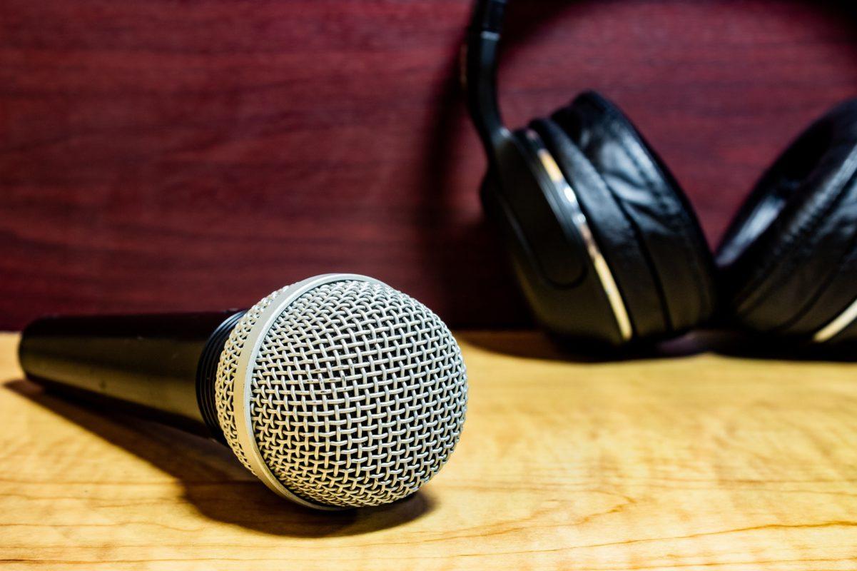 Microfono y audífonos