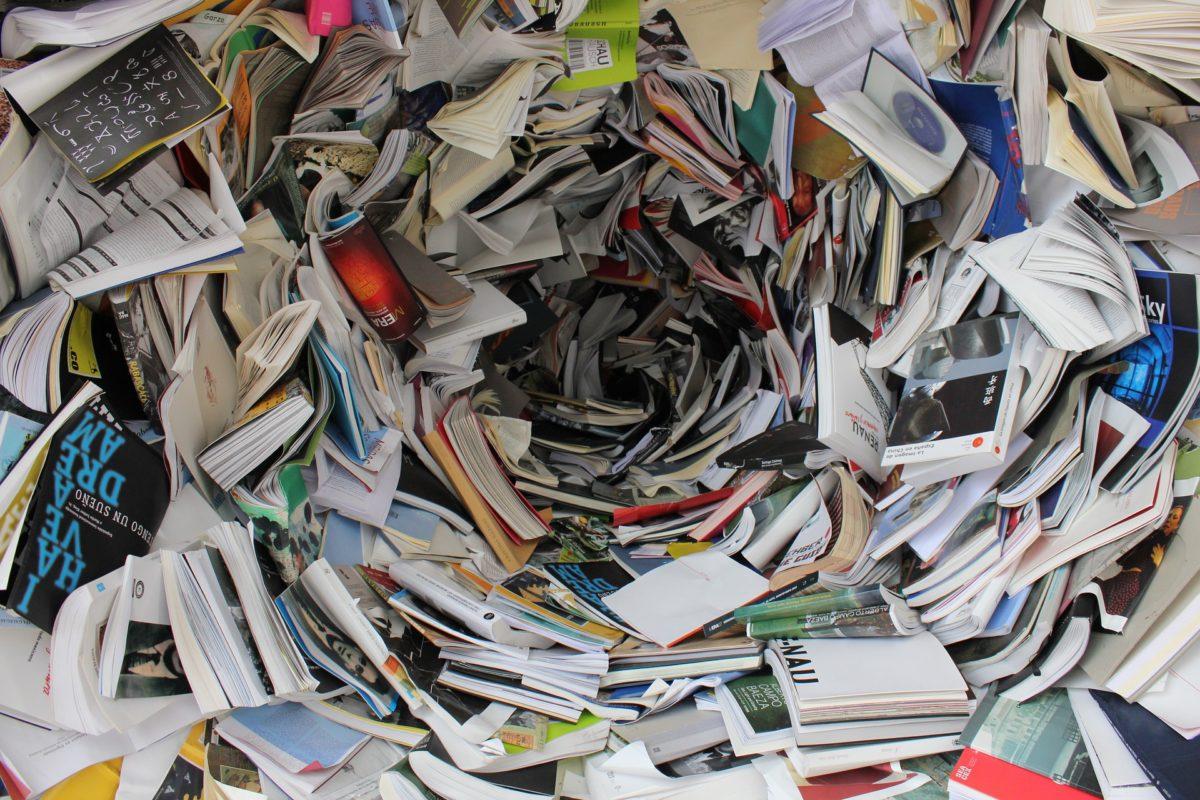 Túnel de libros